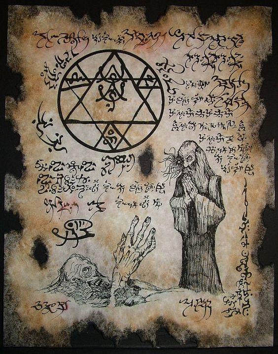 El Necronomicón,un libro salido de los infiernos C55cb49f5dfdf576ee4160d872ad4238