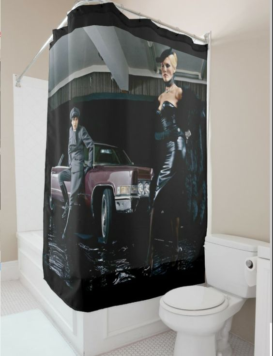 Roxy Music Amanda Lear Shower Curtain To Order Send Message