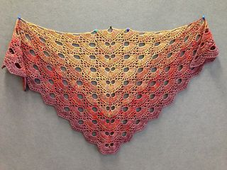 Crochet Pattern For The Virus Shawl : virus shawl/Virustuch free pattern Crochet Clothing ...