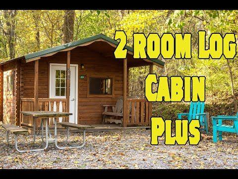 All Log Cabins Elizabethtown Hershey Koa Log Cabin Cabin Front Rooms