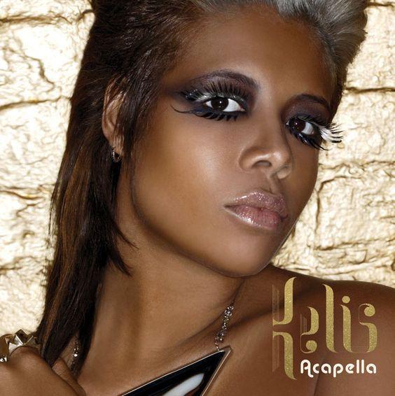 Kelis – Acapella (single cover art)