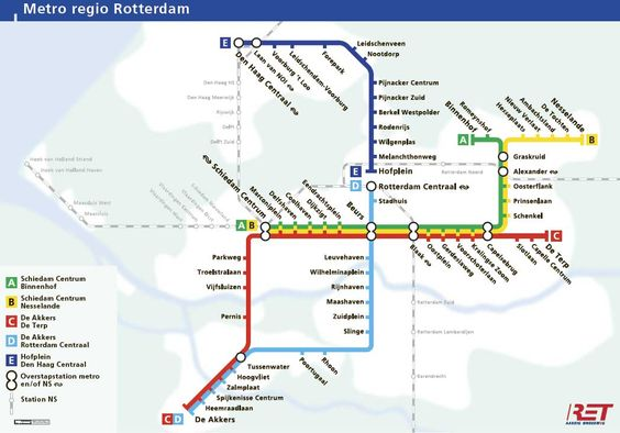 Metro plan Rotterdam Places Ive Been Pinterest Rotterdam