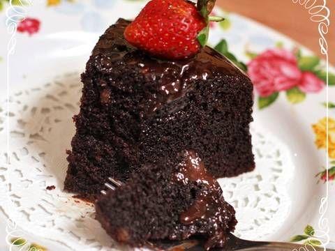 Resep Super Moist Steamed Chocolate Cake Juara No Mixer No Oven Oleh Tintin Rayner Resep Kue Cokelat Resep Makanan Resep Makanan Penutup