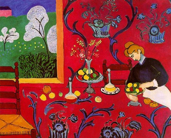 harmony in red   henri matisse