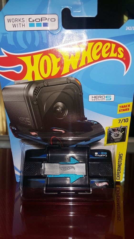 2018 HOT WHEELS 242//365 GO PRO DAMAGED CARD EXPERIMOTORS 7//10 ZOOM IN