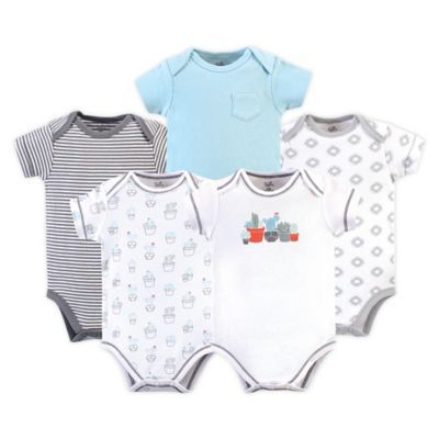 Touched by Nature Baby Boys Organic Cotton Bodysuits