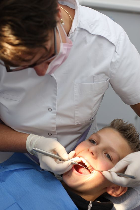 de mondhygiënist is niet alleen voor volwassenen!