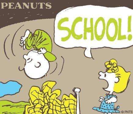 #CharlieBrown #Sally #Peanuts #School