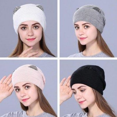 43 Ideas For How To Wear Winter Hats Beanie Girls