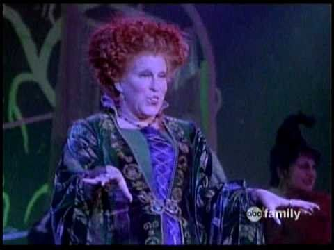 hocus pocus best movie in the history of hilarious halloween movies and the song is amazing too - Halloween Movies About Witches