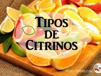 Tipos de citrinos e receitas