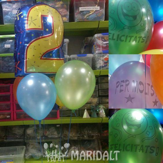 Bonito detalle para un cumpleaños #cumpleaños #globos #sorpresa #felicidades #fiesta #globos #maridaltgirona #helio