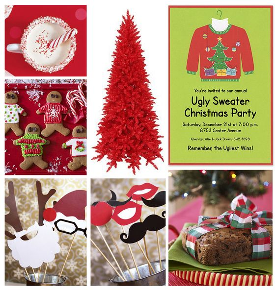 The Finer Things: Ugly Christmas Sweater Party