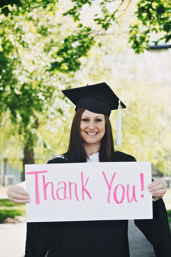 Graduation Thank You Cards -- Soft Swirls Indeed Pinterest - graduation thank you notes