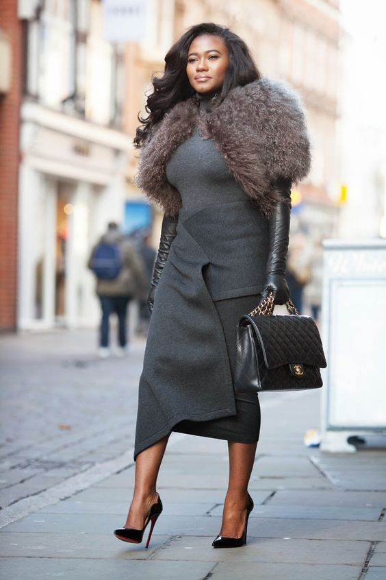 blog - Style is my thing: SKIRT - DONNA KARAN. JACKET - MARC JACOBS.