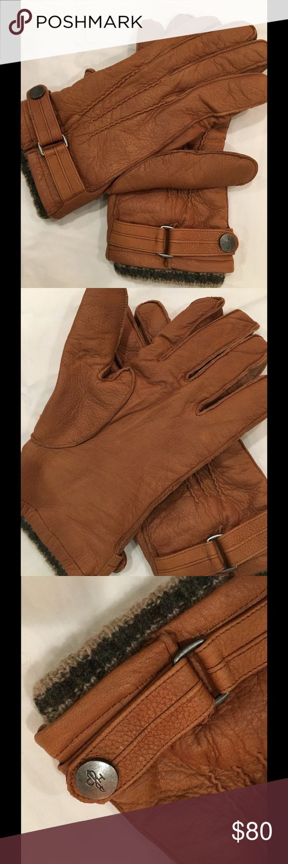 Very mens gloves -  Reduced Cole Haan Leather Gloves Cole Haan Men S Leather Gloves Buttery Soft Deerskin Leather With Wool Lining Worn Maybe Twice Very Reasonably