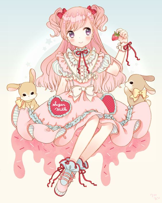 spring strawberry♡