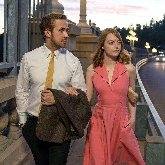 Everything about Emma Stone and Ryan Gosling's latest film is visually dreamy, beginning with Emma's on point style game.
