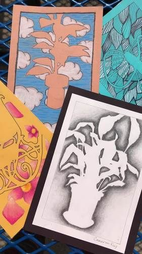 Visual Arts - DRAWING - Negative Space by MrsTFox Resources | TpT