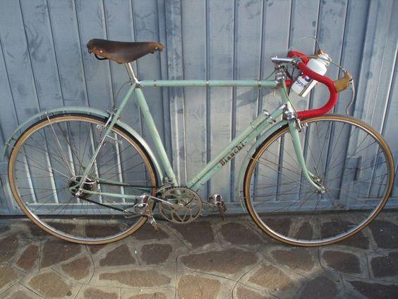 RAGGI DI STORIA: Bianchi 1951 cambio Campagnolo Parigi-Roubaix