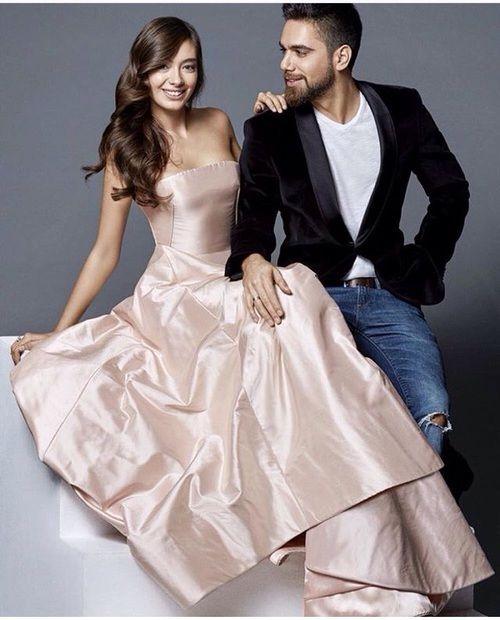 Kadir Dogulu Neslihan Atagul And Burak Ozcivit Image Girls Frock Design Frocks For Girls Strapless Dress Formal