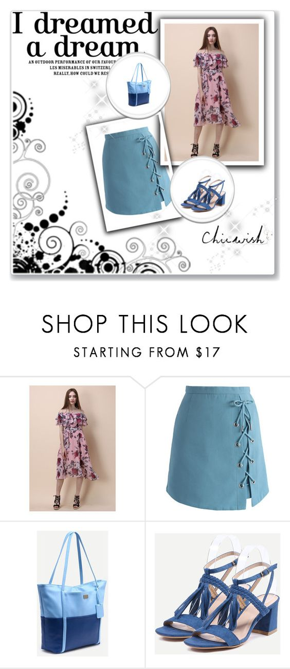 """Deamer girl"" by nijaz-selimovic ❤ liked on Polyvore featuring Chicwish"