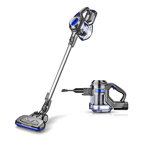 Moosoo Cordless Vacuum 10000pa Upgraded Powerful Suction 2 In 1 Stick And Handheld Vacuum Cleaner For Home Hard Floor Carpet Car Pet Xl 618a Cordless Vacuum Handheld Vacuum Cleaner Vacuum Cleaner