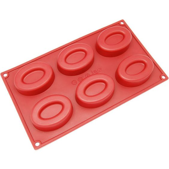 6-Cavity Silicone Double Oval Soap Mold FREE Shipping Description: Style Name: Mini 6-Cavity Silicone Double Oval Soap Mold Create your own special desserts or homemade soaps with the 6-Cavity Silicon