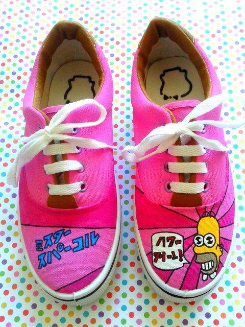 Zapatillas Simpsons Mr. Chispa