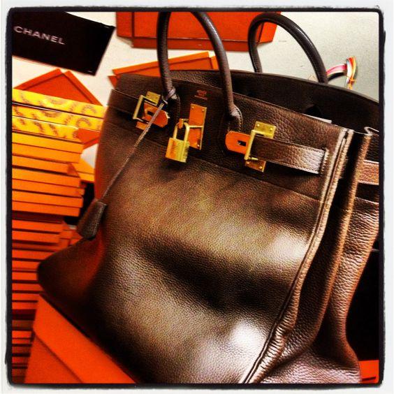 hermes purses - Hermes HAC 50 cm Brown taurillon | Le Monde d'Herm��s - Bags ...