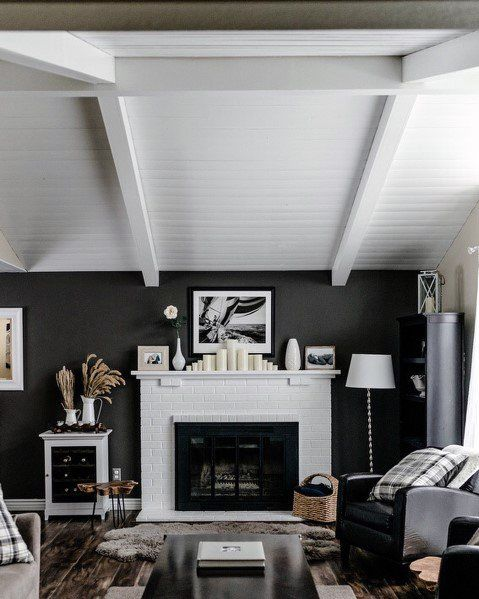 Top 60 Best Wood Ceiling Ideas Wooden Interior Designs Painted Wood Ceiling Wood Ceilings Wooden Ceilings