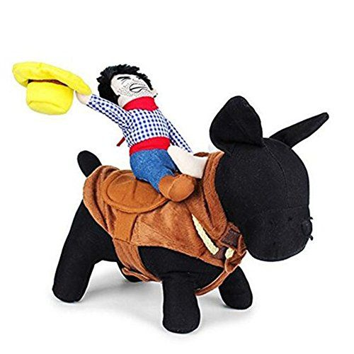 Nacoco Cowboy Rider Dog Costume For Dogs Outfit Knight Style With