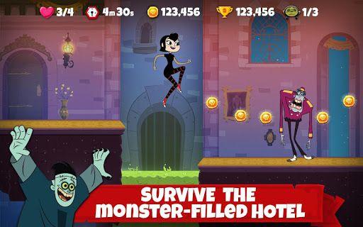 Hotel Transylvania Adventures Run Jump Build Apk Nugeulis