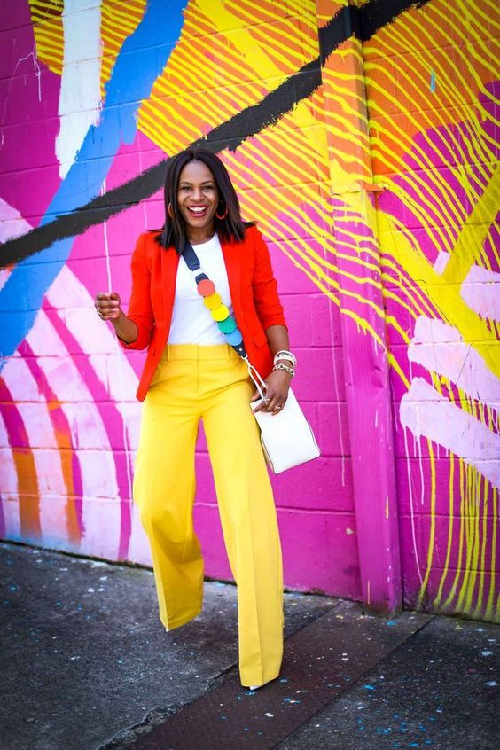 color-blocking, and how to nail the trend this spring