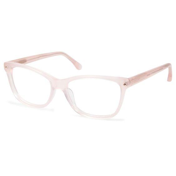 Cynthia Rowley Eyewear CR5001 No. 88 Blush Square Eyeglasses