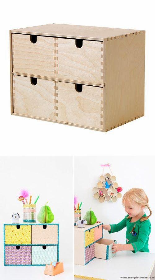 Mommo design ikea hacks moppe makeover kids furniture - Sofas con cajones ...