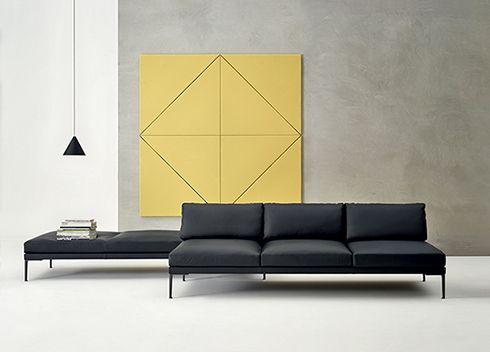 minimal space design! #Steeve sofa #interior #modernart | minimal |  Pinterest | Minimal, Spaces and Interiors