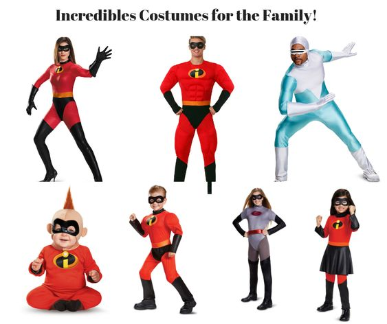Incredibles Costumes for the Family