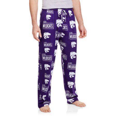 Ncaa Kansas State Perimeter Men's AOP Knit Pant, Size: Large, Purple