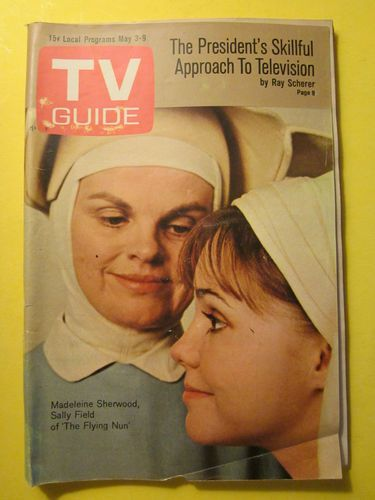 Vintage TV GUIDE May 3-9 1969 The Flying Nun Sally Field cover