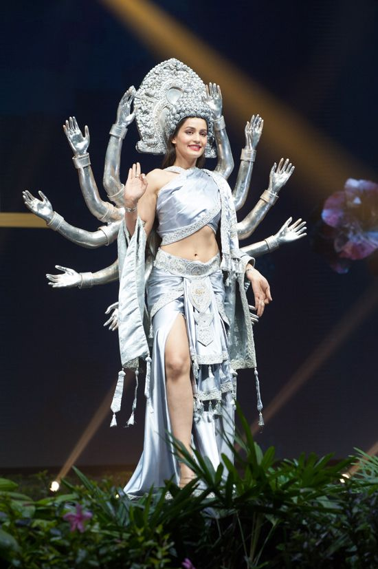 Miss Universe National Costumes 2018 Part 2: Superheroes, Warriors and Goddesses | Tom + Lorenzo