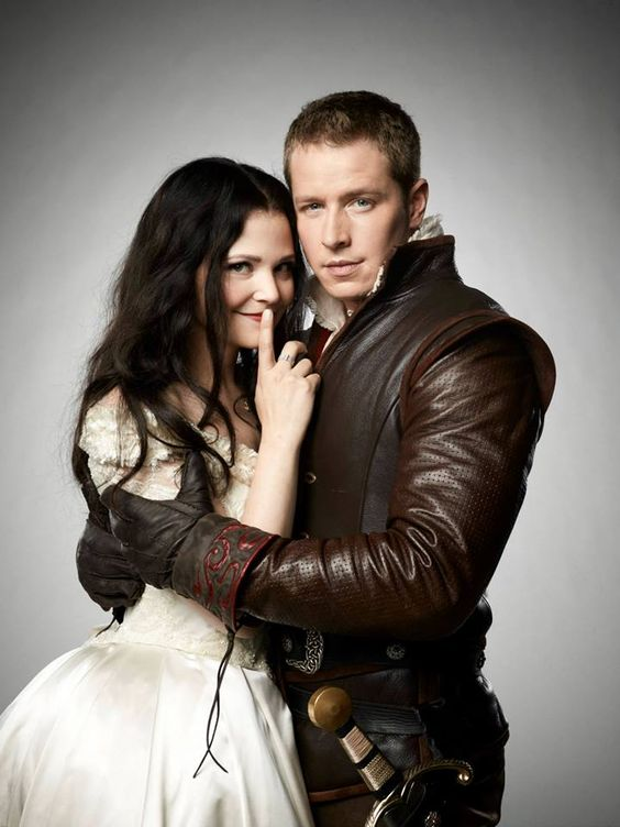Snow White & Prince Charming - Once Upon a Time Photoshoot ...