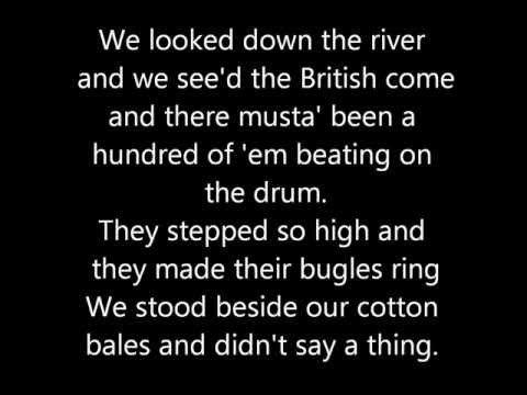 Johnny Horton - Battle of New Orleans Lyrics - YouTube ~ https://www.youtube.com/watch?v=VL7XS_8qgXM