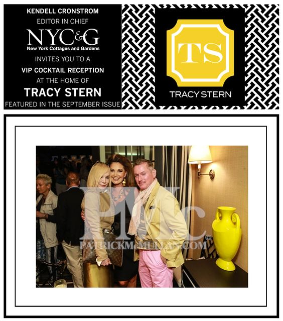 Maggie Norris, Elizabeth Scokin & Montgomery Frazier attending Tracy Stern's VIP Cocktail Reception, Celebrating her New York Cottages and Gardens Magazine Feature.  Editor In Chief: Kendell Cronstrom  Photographed By: Shaun Mader of Patrick McMullan