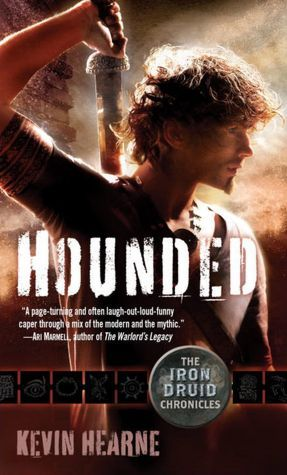 Iron Druid Chronicles Series  I love Atticus, he cracks me up. If you like the Dresden Files, I think you'll like the Iron Druid Chronicles.