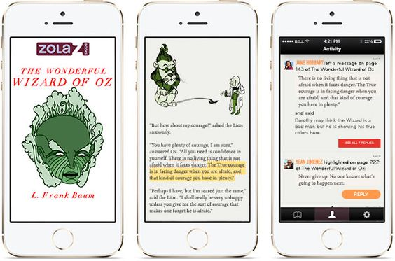 Zola Books' Reading App Adds In-book Commenting, Sharing, and Free Books | Blog | Zola Books
