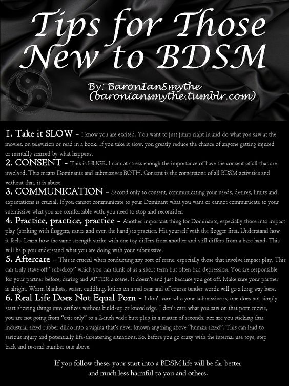 BDSM question. Looking to get started as a life style and need some help and advice.?