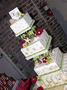 WOW Cake: Pretty Cakes, Cakes Cupcakes, Awesome Cakes, Beach Weddings, Wedding Cakes Tropical, Tropical Weddings, Beautiful Cakes