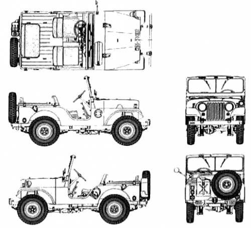 Jeep CJ-5 Wallpaper