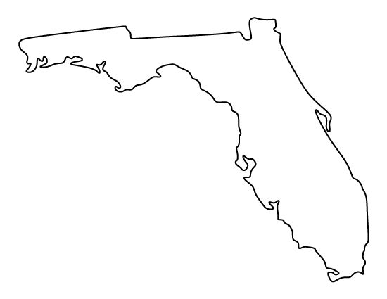 Florida Pattern Use The Printable Outline For Crafts